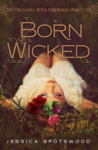 The cover of BORN WICKED, first book in the Cahill Witch Chronicles. Click on the image for Jessica Spotswood's website.